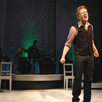Rapp it up: Anthony Rapp in <i>Without You</i> at City Theatre.