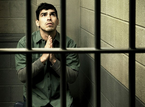 Raul Castillo in barebones productions' Jesus Hopped the A Train.