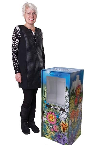 Rebecca Watkins, artbox project
