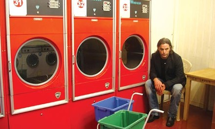 Recording, or just doing laundry? Jeffrey M. Robinson