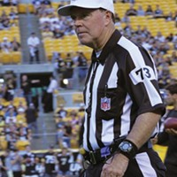 Replacement referee Craig Ochoa