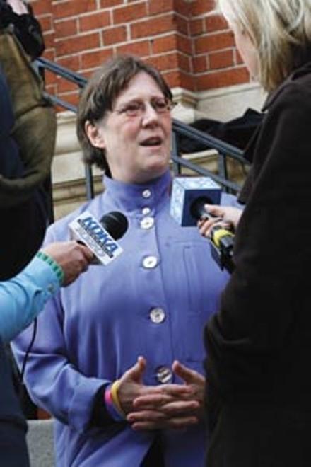 Rev. Janet Edwards - HEATHER MULL