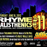 Rhyme Calisthenics #11 hits Pittsburgh this Saturday