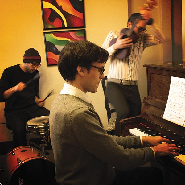 Richard Gartner, Buddy Rieger and Elliott Sussman practice Beck