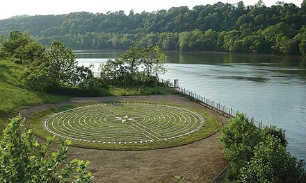 'Rinth and repeat: Lorraine Vullo's Homestead Labyrinth.
