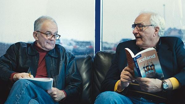 Road-trippers Paul Eenhoorn and Earl Lynn Nelson