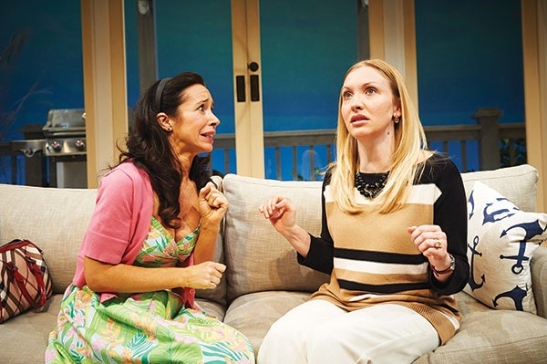 Robin Abramson and Kimberly Parker Green in Elemeno Pea