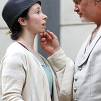 Robin Abramson and Mark Staley in Twelfth Night
