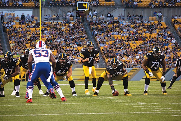 Roethlisberger, no-huddle offense