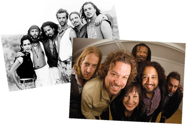 Rusted Root in the '90s and Rusted Root today