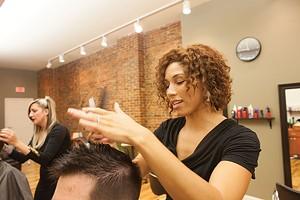 Salon Ivy co-owner Chelsea Bruce-McCrommon