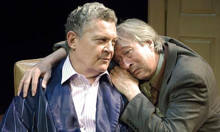 Sam Tsoutsouvas (left) and Rick McMillan in No Man's Land. Photo courtesy of Daisy Block.