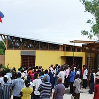 Pittsburgh's Rothschild Doyno Architects designed the Sant Lespwa Center of Hope in Hinche, Haiti