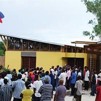 Pittsburgh's Rothschild Doyno Architects designed the Sant Lespwa Center of Hope in Hinche, Haiti
