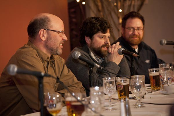 Scott Smith from Pittsburgh's East End Brewing joined Tröegs' Chris Trogner