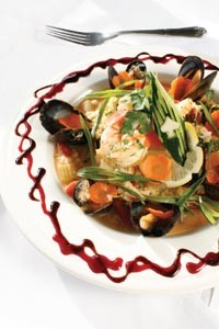 Seafood paella - HEATHER MULL