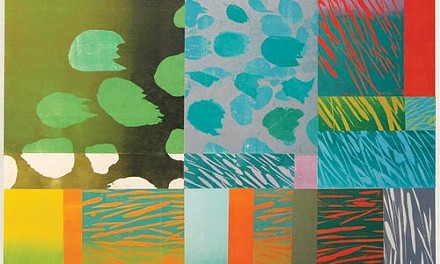 """Season in the sun: Naoko Matsubara's """"Summer Garden B"""" (2008)."""