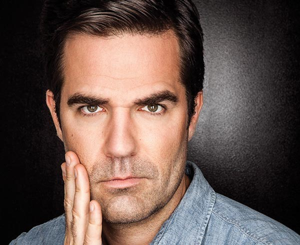 Seriously funny: Rob Delaney