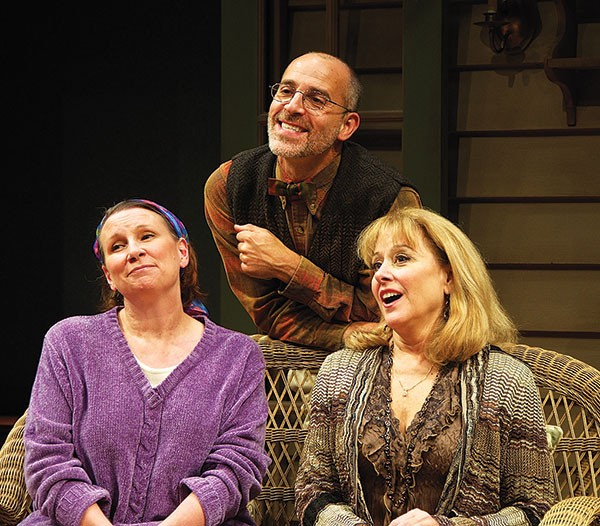 Sheila McKenna (on left), Helena Ruoti and Harry Bouvy.