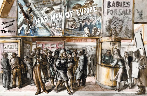 ART BY REGINALD MARSH