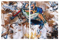 ART BY DAVID LEBLANC.