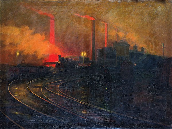 ART BY LIONEL WALDEN.