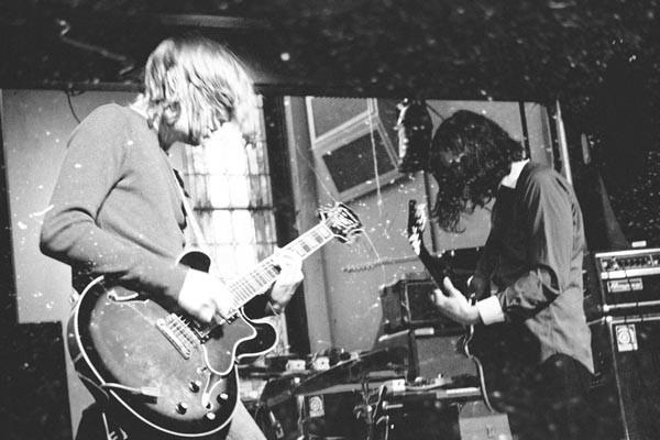 Sick riffs: Mike Arendt (left) and Davis Bubenheim - PHOTO COURTESY OF BERNIE JONES