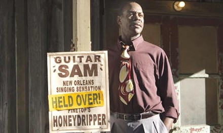 Sign of the times: Danny Glover awaits the new sound.