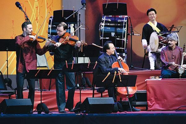 Silk Road Ensemble Heinz Hall