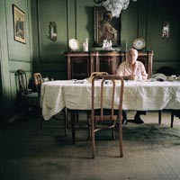 "SILVER EYE CENTER >> Katraina M. d'Autremont, ""Abuelo a la Mesa (Grandfather at the Table),"" 2006"