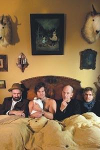 Sleeping beauties: American Music Club (Mark Eitzel, Sean Hoffman, Vudi and Steve Didelot, from left)