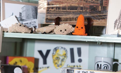 Small, cute and so Pittsburgh: Alicia Kachmar's mini-knits - RENEE ROSENSTEEL