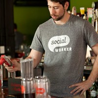 Social Social bartender Max Carson Photo by Heather Mull