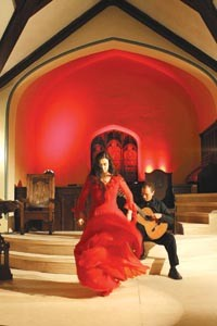 Sole music: Carolina Loyola-Garcia (left) and John Marcinizyn in Quantum Theatre's The Red Shoes</