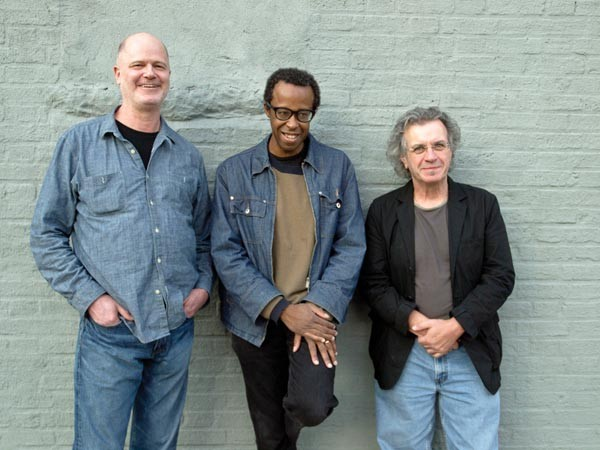 Something that really exists: Matthew Shipp (center) and his trio