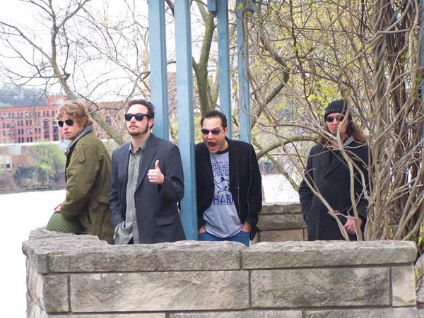 Songs for slackers: Akrasia (from left: Benji Balix, Bill Danylo, Mike Buric, Fletch)