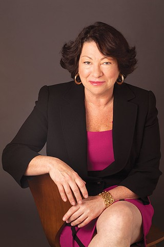 Sonia Sotomayor at Carnegie Music Hall - PHOTO COURTESY OF ELENA SEIBERT