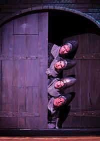 Spamalot, Monty Python, Pittsburgh CLO's summer season