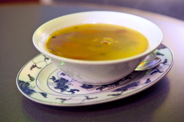 Spicy chicken soup - PHOTO BY HEATHER MULL