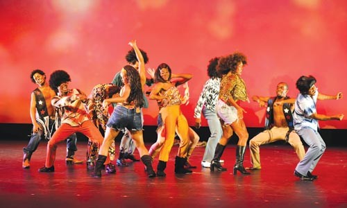 """Spirit of '69: Lula Washington Dance Theatre performs """"Ode to the Sixties."""" - PHOTO COURTESY OF EARL GIBSON."""