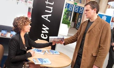 Spirit reading: Ccile de France and Matt Damon share a book, and a moment.