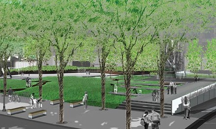 Square deal: Artist's rendering courtesy of Andrea Cochran Landscape Architecture and the Pittsburgh Children's Museum.