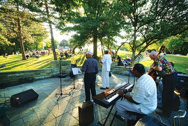 """Stars at Riverview"" jazz concerts in the park, Saturdays, June 7-Aug. 30 - PHOTO COURTESY OF CITIPARKS"