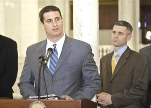State Rep. Dave Reed, shown here in a publicity photo, has sponsored eight bills that would place additional demands on those seeking public assistance.