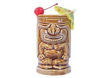 Stave off fall a little longer with a tiki drink