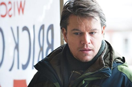 Stayin' alive: Matt Damon navigates a post-virus world.
