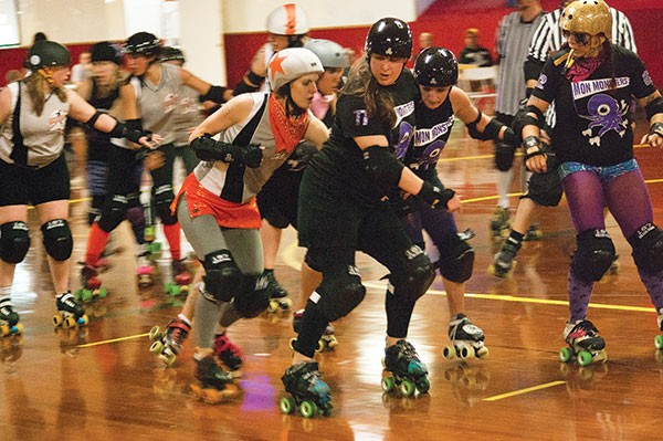 Steel City Roller Derby Romp N' Roll in Glenshaw