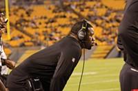 Steelers defensive assistant Joey Porter