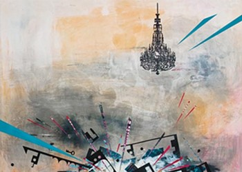 With symbolism and exploded perspectives, painter Stephanie Armbruster explores postindustrial landscapes.