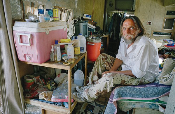 "Stephen Chalmers' photo of Everett ""Insane Wayne"" Smith (age 58)"